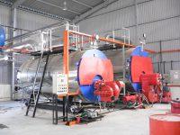 Horizontal fire tube boiler